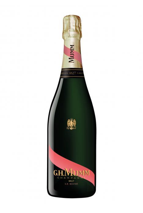 G.H.Mumm Champagne Brut Rose 75cl