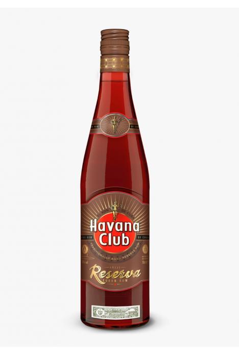 Havana Club Rum Cuba Añejo Reserva 70Cl Bottle
