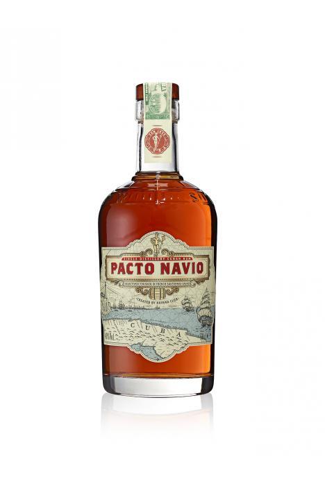 Pacto Navio Rum Cuba Original 70cl Bottle