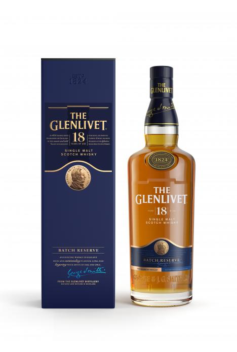 The Glenlivet Single Malt 18 Yo 70cl
